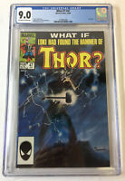 1984 Marvel Comics WHAT IF #47 ~ CGC 9.0 ~ Loki and Thor