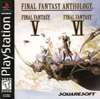 Final Fantasy Anthology (Sony Playstation, PS1, PSX, 2004) FFV & FFVI
