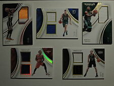 RELIC LOT IMMACULATE COLLECTION PARSONS SMART HILL BEASLEY GINOBILI SEE PICS