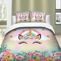 Eye Unicorn Duvet Cover Quilt Cover Bedding Se Twin Queen King Size Bedding US