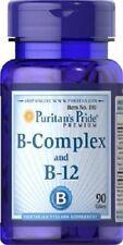 VITAMIN B-COMPLEX AND B-12 90 TABLETS, VITAMIN B-KOMPLEX-und B-12 USA