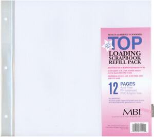 """MBI Page Protectors 12""""X12"""" 6/Pkg"""