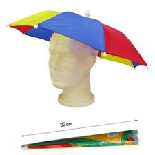 Umbrella Hat Novelty Adult Costume Hat Ladies Mens Multi Colour Festival Hat
