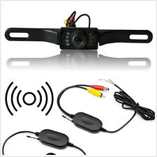 120�� Wide Angle IR Cars Reverse Camera & Wireless Video Receiver Kit  For Holden