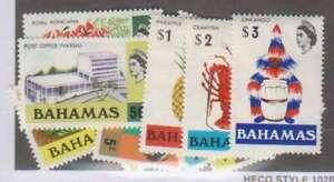A9772: Bahamas #313-330 Mint, OG, VF, NH