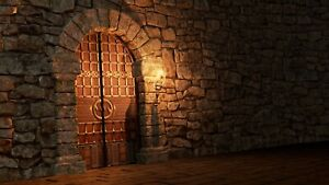 Dungeon Doors 25/28mm scale resin multi listing