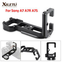 Vertical L-Plate Bracket Quick Release Hand Grip For Sony A7R III A7III A9 Cam