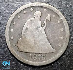 1875 S 20 Cent Piece  --  MAKE US AN OFFER!  #B3759