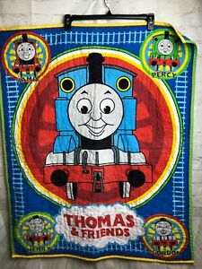 Thomas the Train Baby Blanket Quilt Comforter Thomas & Friends 32X40