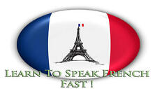 LEARN TO SPEAK FRENCH LANGUAGE COURSE - 10 BOOKS + 110 HRS AUDIO MP3 ALL ON DVD