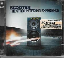 SCOOTER - The stadium techno Experience (2 x CD) 15Tr (DIGIDANCE) Holland 2003