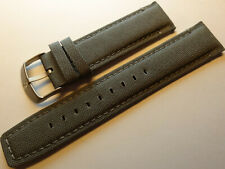 New Mens Timex Expedition Gray 22mm Padded Sport Watch Band Water Resistant