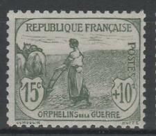 """FRANCE STAMP TIMBRE N° 150 """" ORPHELINS FEMME LABOUR 15c + 10c """" NEUF xx TTB N415"""