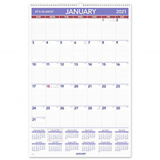 2021 Wall Calendar By At A Glance 20 X 30 Extra Large Monthly Wirebound
