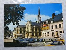 Breteuil sur Iton  (Eure 27) Hôtel de Ville, vu du square (XIVè)