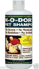 N-O-DOR Pet Dog Cat Puppy Shampoo No odor scent,residue,iritation pet wash 16oz