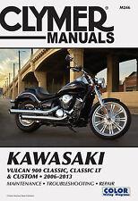CLYMER MANUAL KAWASAKI VULCAN 900 CUSTOM 2007-2013, 900 CLASSIC & LT 2006-2013
