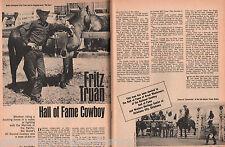 Fritz Truan - Marine Corps Hero & World Rodeo Champion+Aber,Bowman,Brooks,Canutt