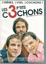 DVD ZONE 2--LES 3 P'TITS COCHONS--HUARD/LEGAULT/DOUCET/LEMAY-THIVIERGE