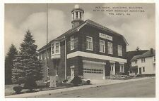 Pen Argyl Municipal Building PEN ARGYL PA Vintage Northampton County Postcard