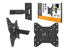 Single Arm 23''-42 '' LCD Plasma TV Wall Mount Bracket Full Fitting Kit Included