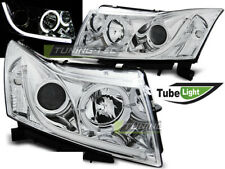 Headlights LED LTI LIGHT TUBE Inside for Chevrolet CRUZE 09-12 Chrome FreeShip U