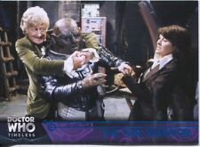 Doctor Who Timeless Blue Parallel [##/99] Base Card #17 The Time Warrior