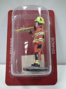 Del Prado 1/32 Figure Fireman Experimental fire dress Structural fire 08 BOM153