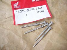 4 boquillas aguja set 50ps carburador Needle set carburetor Honda CBR 600 f2-pc25