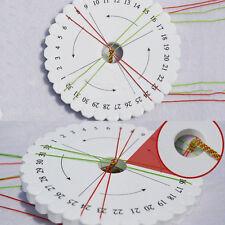 2PCS DIY Beading Cord Round Kumihimo Braiding Plate Disc/Disk