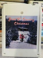 Good Ol' COUNTRY CHRISTMAS (8-Track Tape)