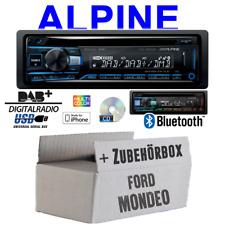 Alpine Autoradio für Ford Mondeo Bluetooth DAB+ CD/USB/MP3 Apple Android Set
