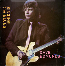 "Dave Edmunds Singing The Blues UK 45 7"" single +Picture Sleeve +Boys Talk"