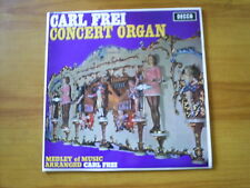 CARL FREI Concert organ UK LP DECCA 1966