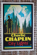 City Lights #2 Lobby Card Movie Poster Charlie Chaplin
