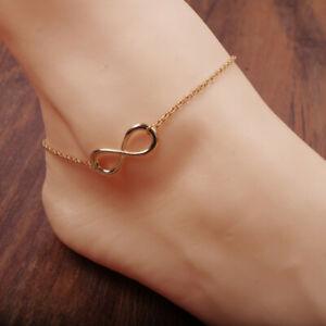"Gold Ankelts For Women Girl Summer Jewelry Bohemia Foot Bracelet Jewelry 10"""