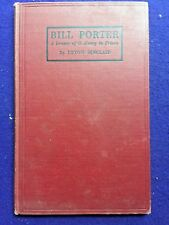 UPTON SINCLAIR.  BILL PORTER -  A DRAMA of O'HENRY in PRISON.  1st Edition  1925