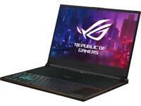 "ROG Zephyrus S Ultra Slim Gaming Laptop, 15.6"" 144 Hz IPS-Type Full HD, GeForce"