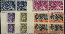Pre-Decimal George VI (1936-1952) British Blocks Stamps