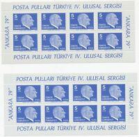 TÜRKEI 1979 Atatürk 5L Nationale Briefmarkenausstellung Ankara postfr. Kab.-Klbg