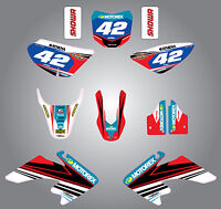 Full  Custom Graphic  Kit - Strike style - Honda CRF 50 - 2013 - 2015 stickers