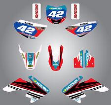 Full  Custom Graphic  Kit - Strike style - Honda CRF 50 - 2013 - 2015 stickers