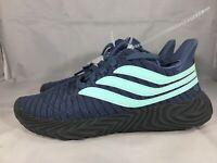 new Adidas kids youth shoes Sobakov J ART B42008 08/18 sz 4 blue MSRP $100+