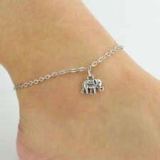 Women Sexy Elephant Charms Chain Anklet Bracelet Barefoot Beach Foot Jewelry