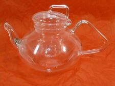 TUPPERWARE TupperLiving Blooming Teapot Glass 17 oz.