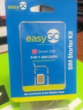 Easy Go wireless Sim 3in1 sim card for Easy Go At&T, unlocked Gsm phones iphone!