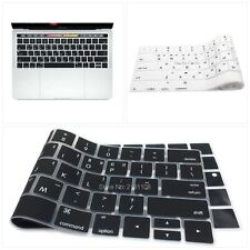 Korean Language Touch Bar Keyboard Skin Silicone Cover for MacBook Pro with Touc