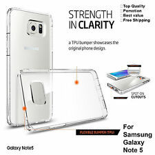 Samsung Galaxy Note 5 Case Cover Clear Transparent Protective Case Soft TPU