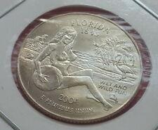 Sexy Teen Girl Hot Naked Busty Model Lady FLORIDA Quarter Souvenir Novelty Coin