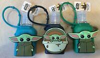 Set of 3 Star Wars THE CHILD Mandalorian Baby Yoda 1oz Travel Size GROGU New